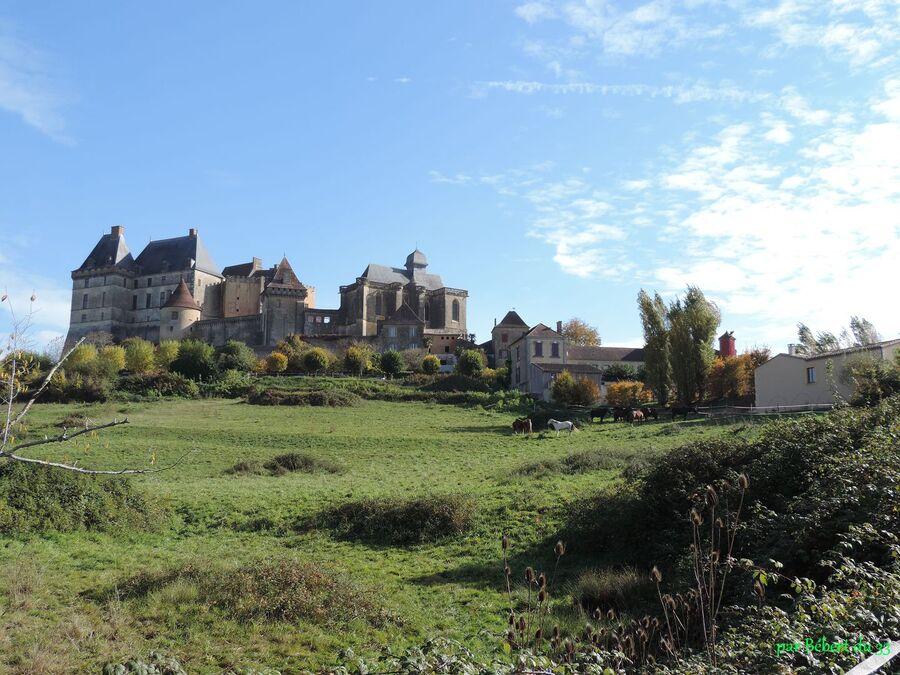 le Château de Biron dans le 47 - 2