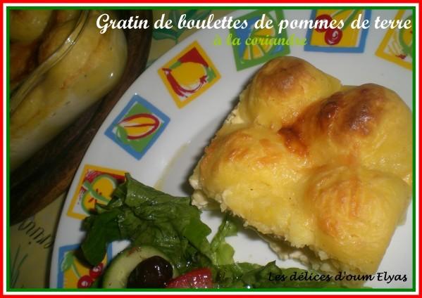 Gratin de boulettes de pommes de terre (3)
