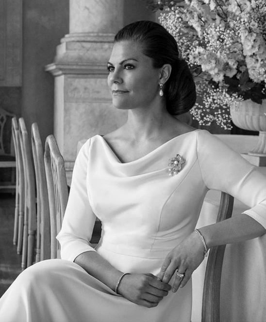 Nouvelles photos de la famille héritière de Suède