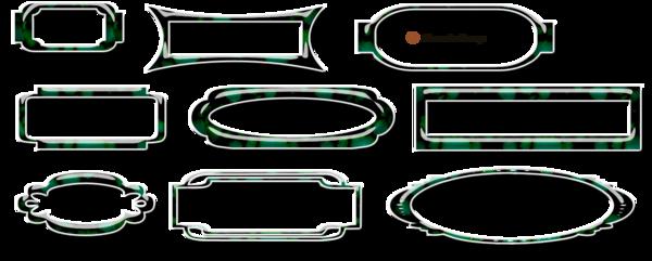Bandes de décoration avec boutons pour blog page 4