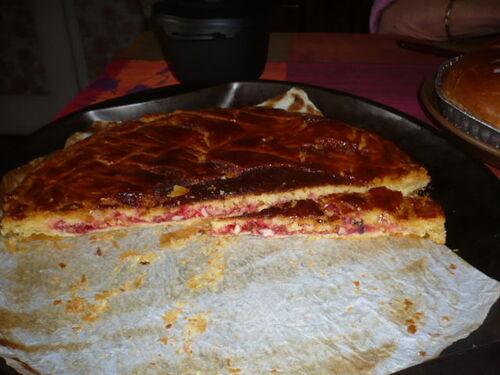 galette aux pralines roses...