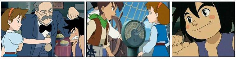 Animation Japonaise ❖  Le Secret du Sable Bleu