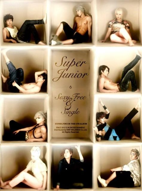 Super Junior : Sexy, Free & Single version B