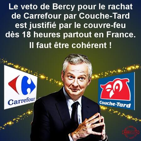 Bruno Le Maire Carrefour