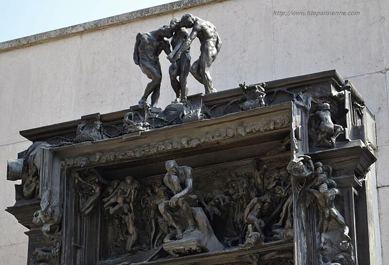 Jardin du Musée Rodin : La Porte de l'Enfer
