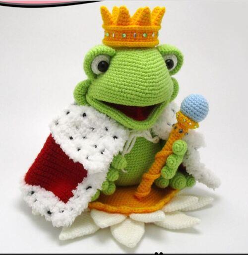 Fabienne: Reine grenouille en cadeau