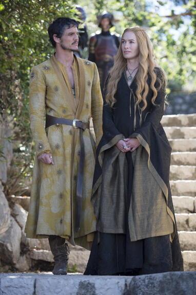 Evolution du look de Cersei: saison 4