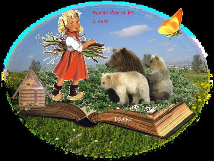 défi  Lara ''boucle d'or et les 3 ours ''