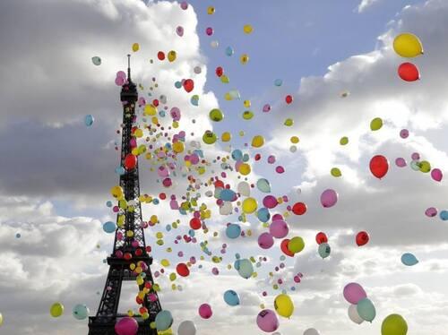Paris est une fête, par Jacky Naegelen