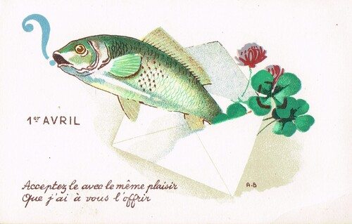 Poissons d'avril anciens