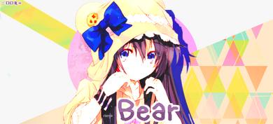 Création n°13 ~ Bear