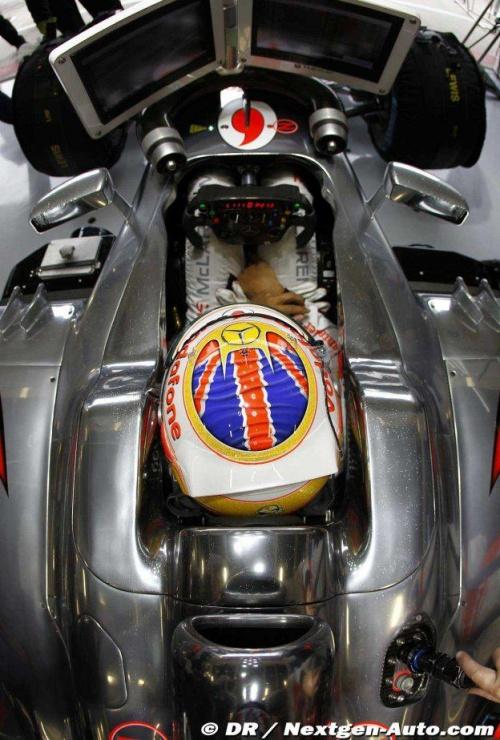 GP Angleterre : Essais libres 3 - Button 2°, Hamilton 6°