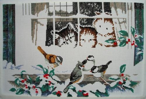 Three Bird Watchers - étape 7