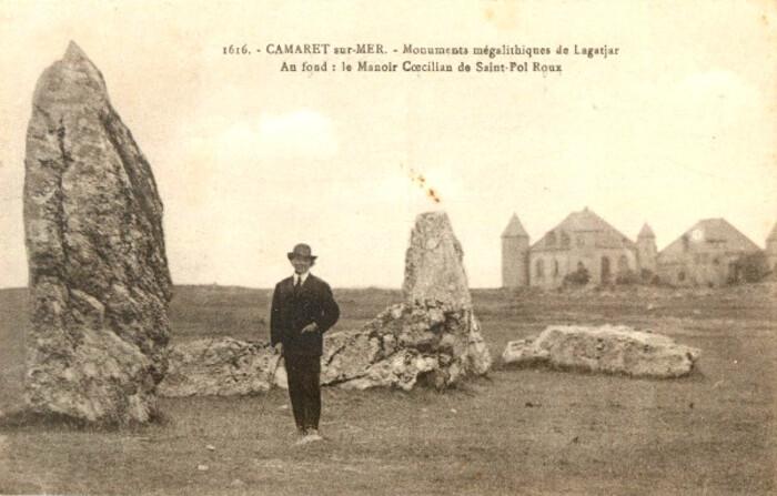 Camaret/mer  Manoir Saint-Pol- Roux   Finistère 2019 -  source Criminocorpus