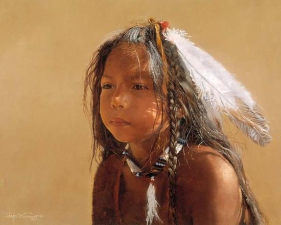 Sioux boy