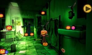 Jouer à Halloween horror house escape