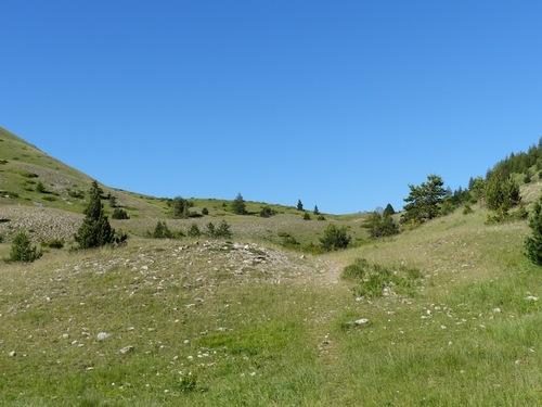 Col de la Saume (Dévoluy)
