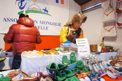 le marché de Noël en Mongolie