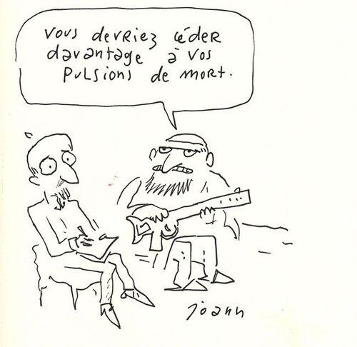 Freud et les pulsions.
