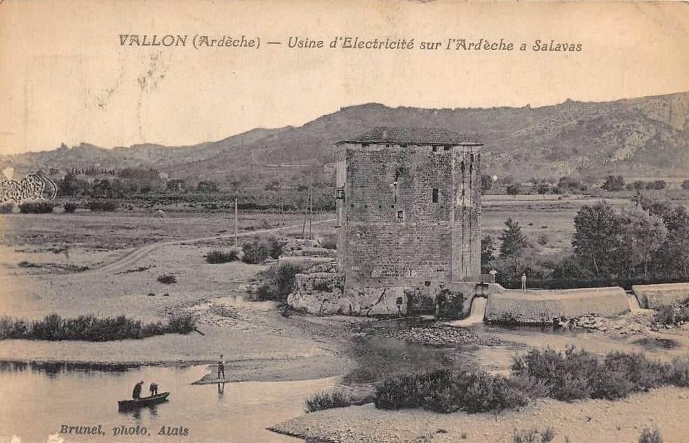 Tour du Moulin - Usine d'électricité