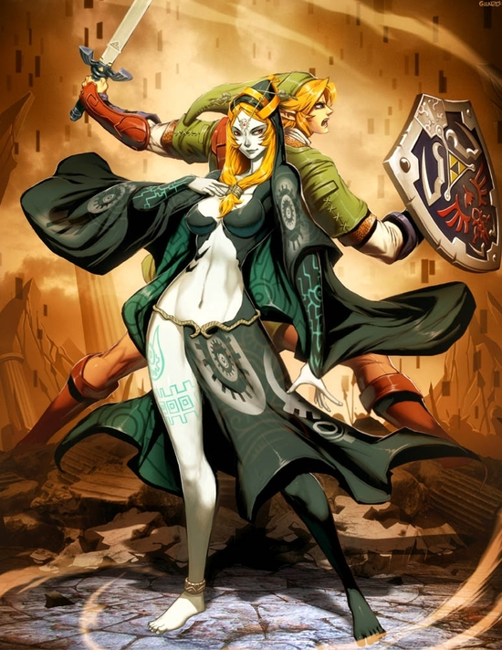 zelda___midna_and_link_by_genzoman-d37hy1i