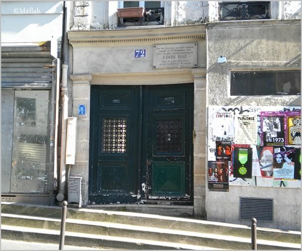 13 septembre 2011 Maison Edith Piaf 1