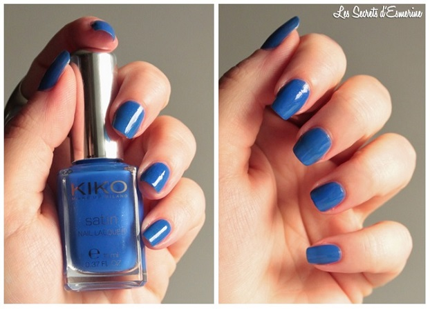 cobalt, blue, vernis, 448, set, Collection, Satin, Nail, Lacquer, Kiko