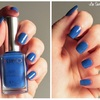 Cobalt blue - 448 - collection Satin nail lacquer - KIKO