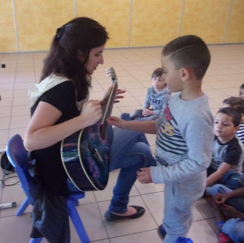 Musique avec Maëlle