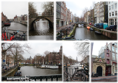 Amsterdam & ses Canaux
