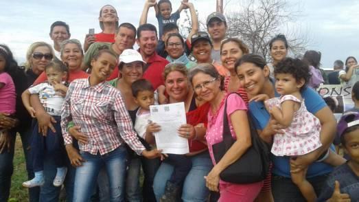 NOUVELLE VICTOIRE PAYSANNE AU VENEZUELA