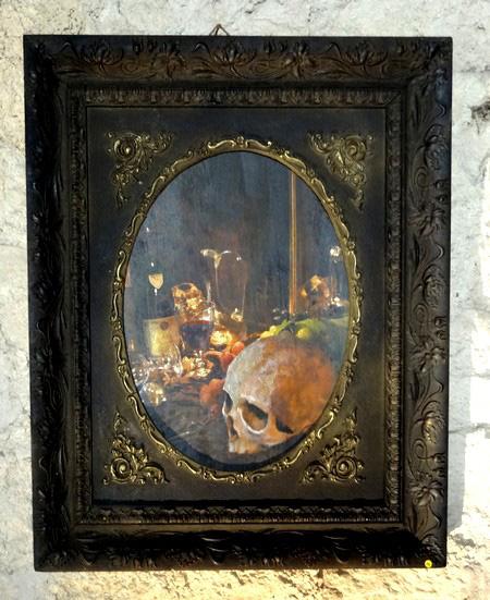 """""""Vanités"""" , une exposition d'oeuvres contemporaines de Fabien Ansault..."""