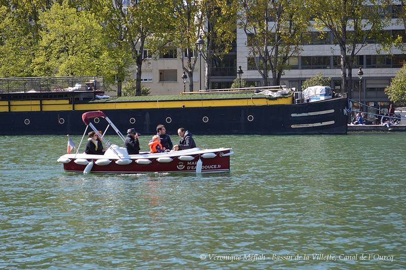Base Nautique de la Villette : En avant marins d'eau douce !