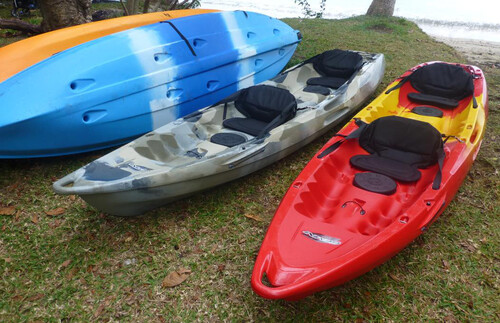 Kayak à Hienghène