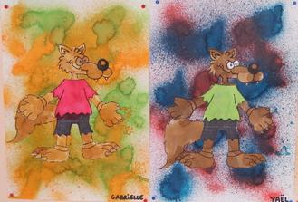 Le loup, la chèvre et ses petits
