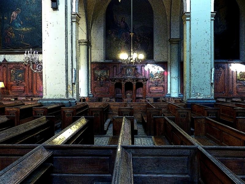 Metz / L'église Notre-Dame-de-l'Assomption...