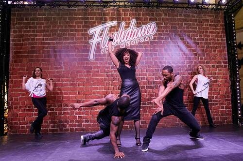 Flashdance au Forum des Halles!