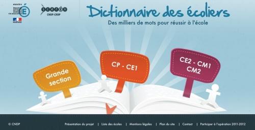 le dictionnaire des écoliers