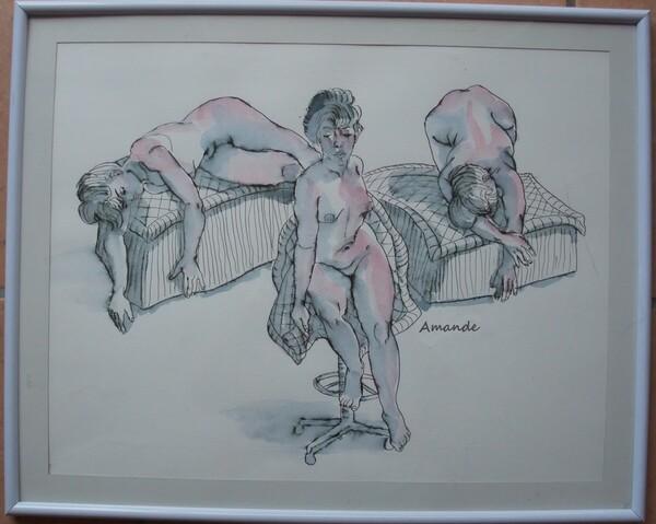 Mercredi - Images d'expo : Les dessins (2)