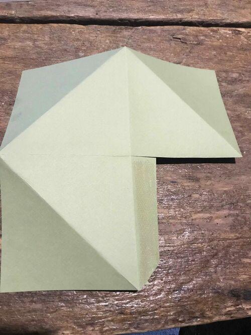 Décoration murale en Origami