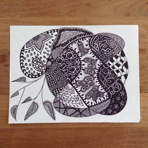 Zentangle GM#3