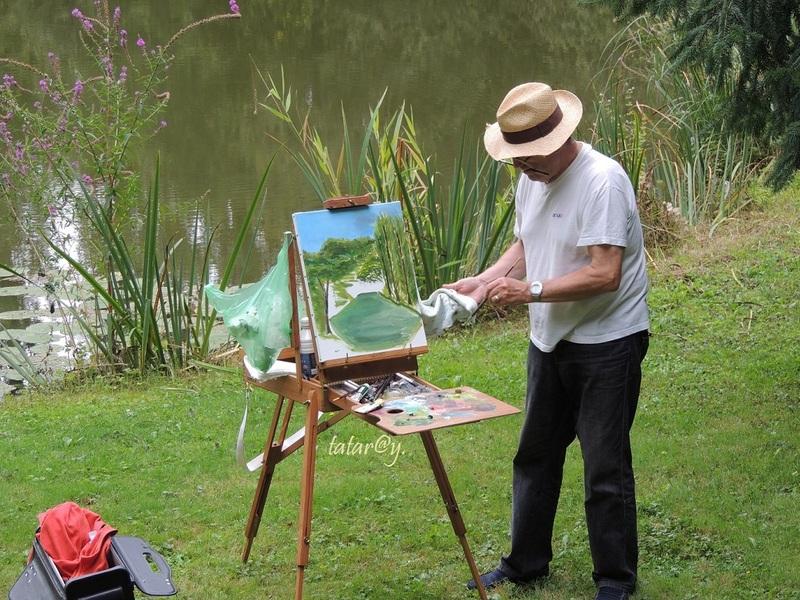 Peintre en solitaire.....
