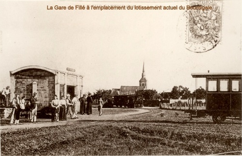 La gare de Fillé