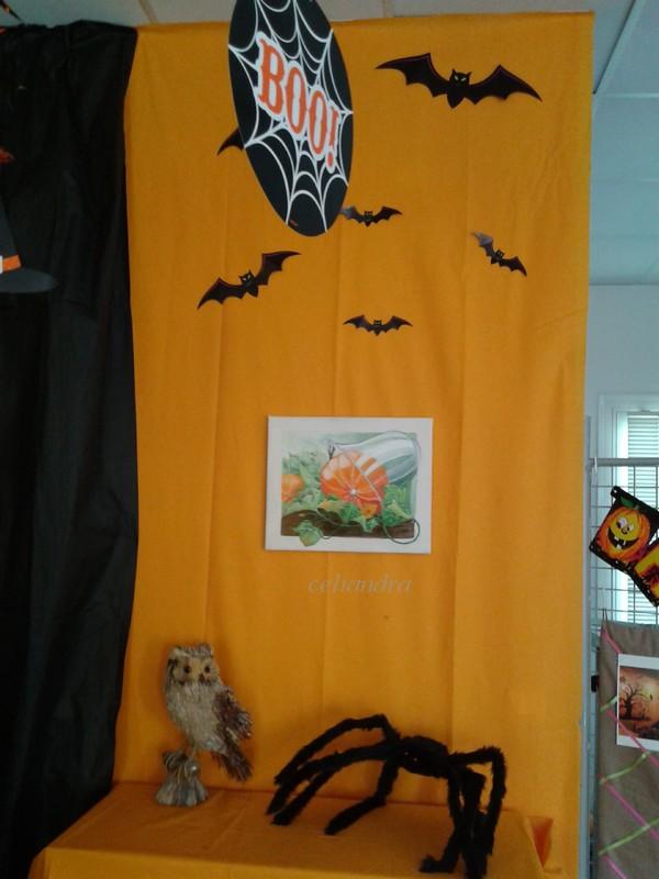 Peintures; Decor pour Halloween