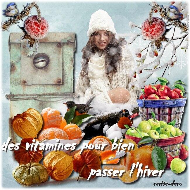 cluster fruit d'hiver