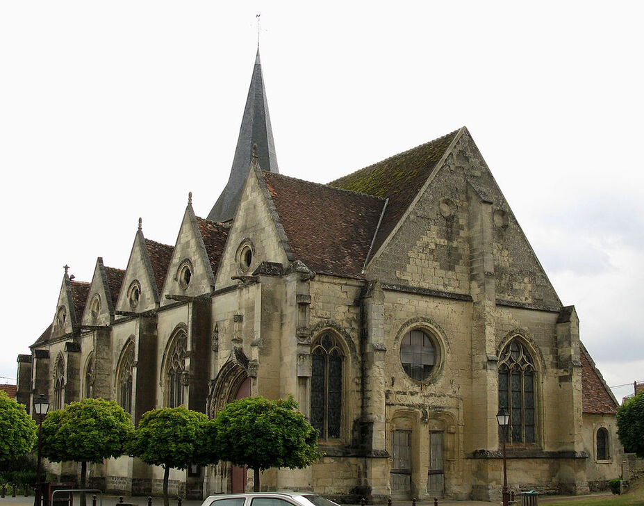 Image illustrative de l'article Église Saint-Rémi-et-Saint-Front de Neuilly-Saint-Front