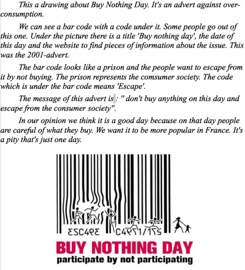 An advert for Buy Nothing Day (1)