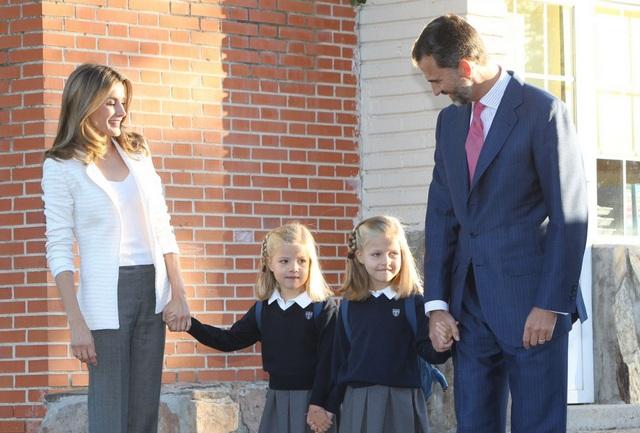 Sofia et leonor à l'école
