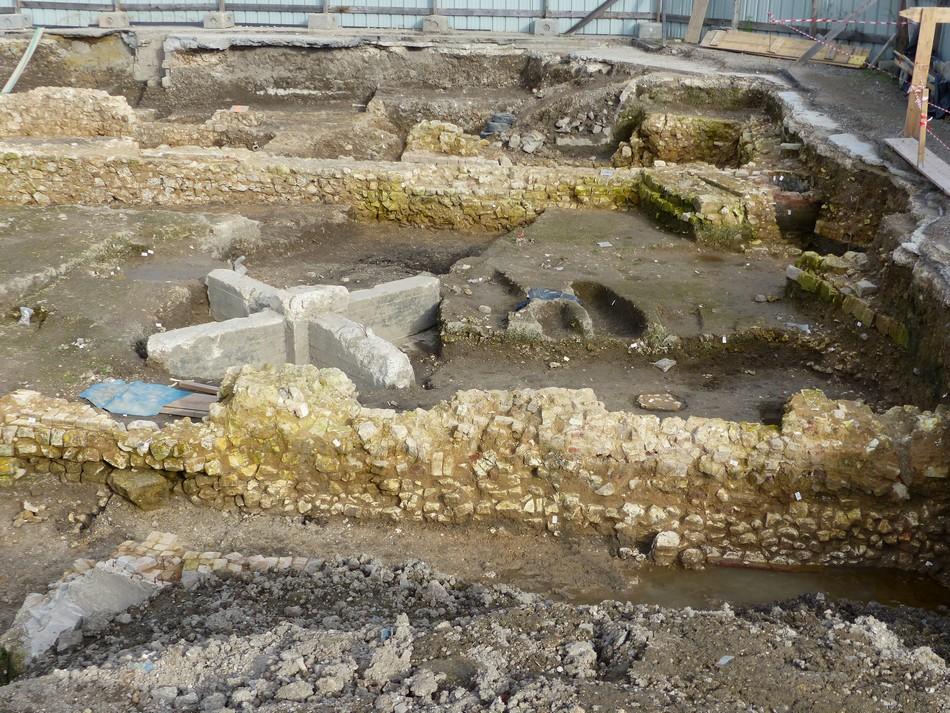 Fouilles archéologiques - Hôtel Dieu