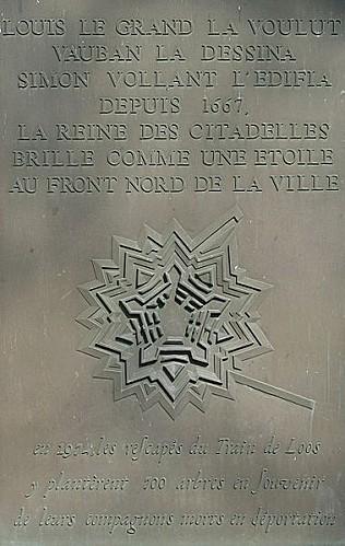 379px-Citadelle Vauban Lille etoile